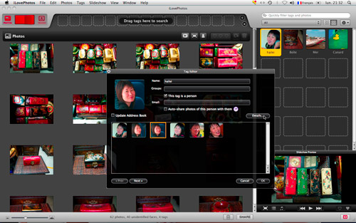 Interface iLovePhotos 1.0