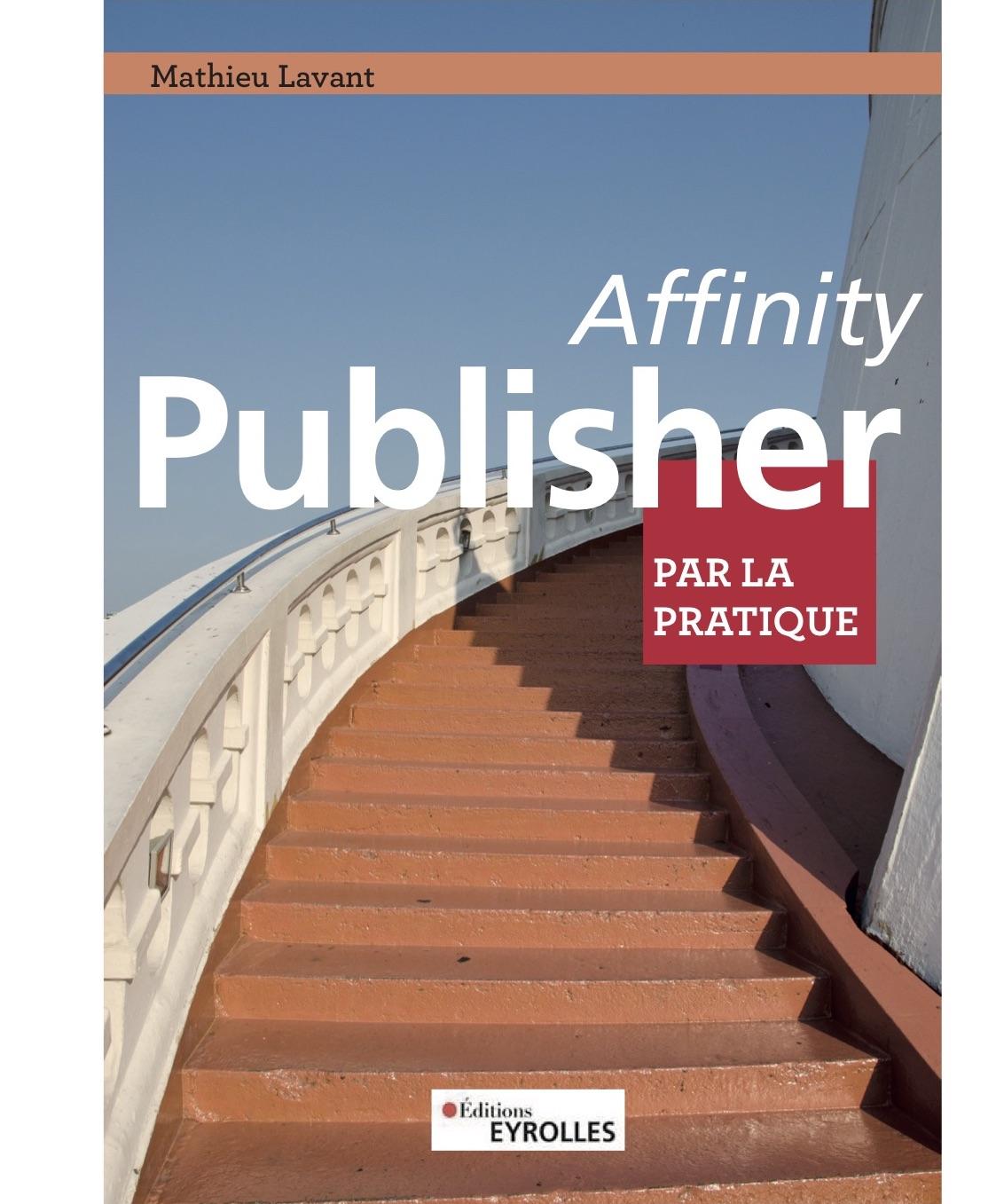 Projet de livre Affinity Publisher