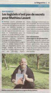 Article Affinity Publisher - Le Télégramme 22-05-21